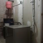 Chauffage d'une maison en remplacement d'une chaudière au propane module intérieur