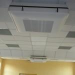 Chauffage/Climatisation Salle des Fêtes : Unité intérieure - Cassette 4 voies